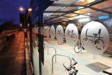 Transport for Greater Manchester Cycle Hub - Broxap - TfGM