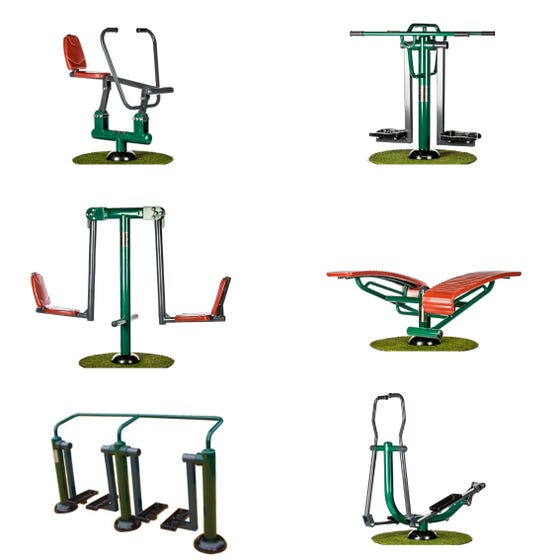 Academy Ultimate Fitness Package   Sunshine Gym   Outdoor Gym Equipment