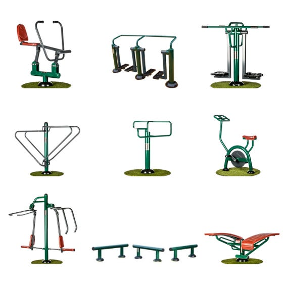 Ultimate Bootcamp Package   Sunshine Gym   Outdoor Gym Equipment Packages