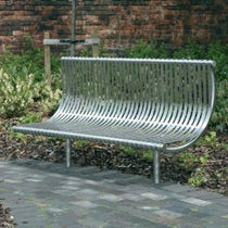 Weyburn Seat - Stainless Steel