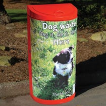 Bromley Dog Waste Bin