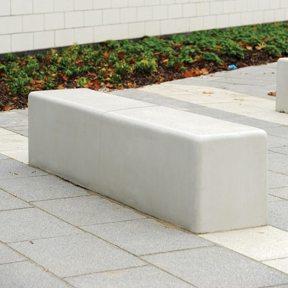 Timperley Concrete Bench