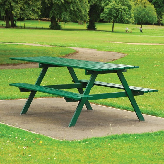 Cannock Chase Picnic Bench - Extended Table Top