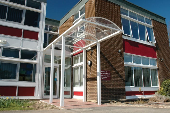 Exeter Entrance Canopy