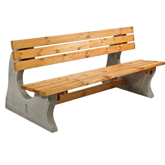 Redberth Concrete & Timber Seat