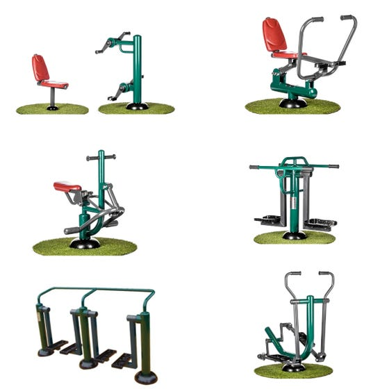 Primary School Outdoor Fitness Package | Sunshine Gym | Outdoor Fitness Equipment