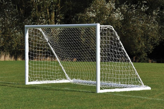 Freestanding Aluminium Football Goals Package - 16' x 6'
