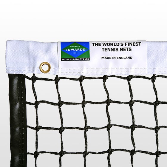 Edwards Championship Tennis Net 3.5mm with Polyester Headband