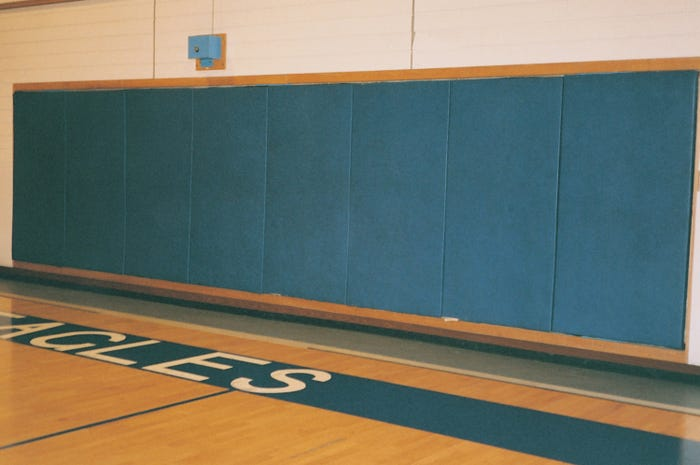 Basketball Back-Wall Padding