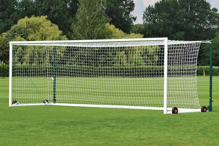 Freestanding Stadium Box Football Goal Posts - 24' x 8'