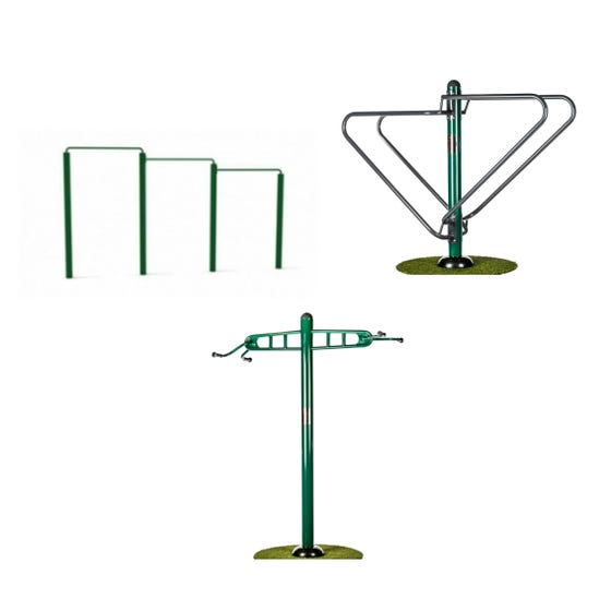 HMP Exercise Package | Sunshine Gym | Outdoor Gym Equipment