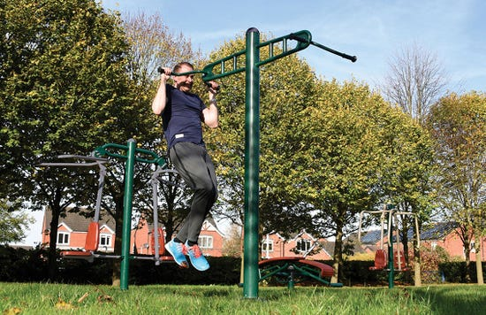 Double pull up   outdoor pull up   outdoor fitness equipment from sunshine gym