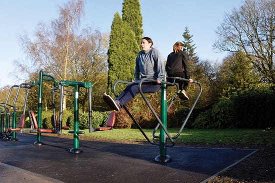 Parallel Rails  Outdoor parallel bars   outdoor fitness equipment from sunshine gym