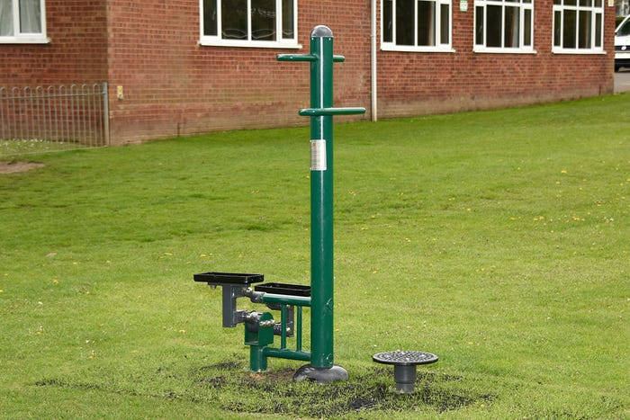 Twist N Step | Outdoor twist and step equipment | Dual Use Adults' Outdoor Fitness Equipment by Sunshine Gym