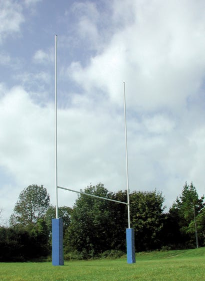 Steel Rugby Posts - Socketed