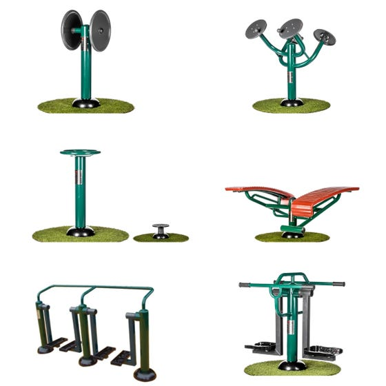 Primary School Social and Physical Package | Sunshine Gym | Outdoor Gym Equipment