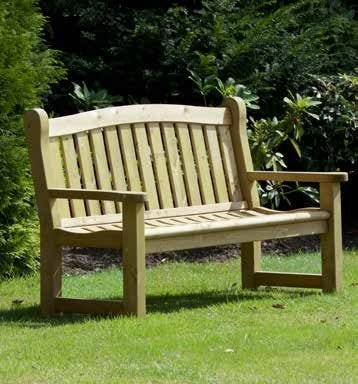Cheriton Heavy Duty Timber Bench