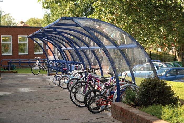 Littleborough Cycle Shelter