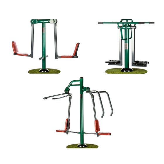 Circuit Training Package | Outdoor Gym Equipment Packages | Sunshine Gym