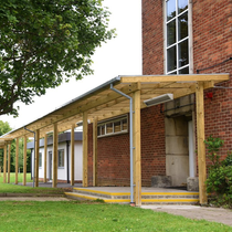 Delamere Timber Monopitch Canopy